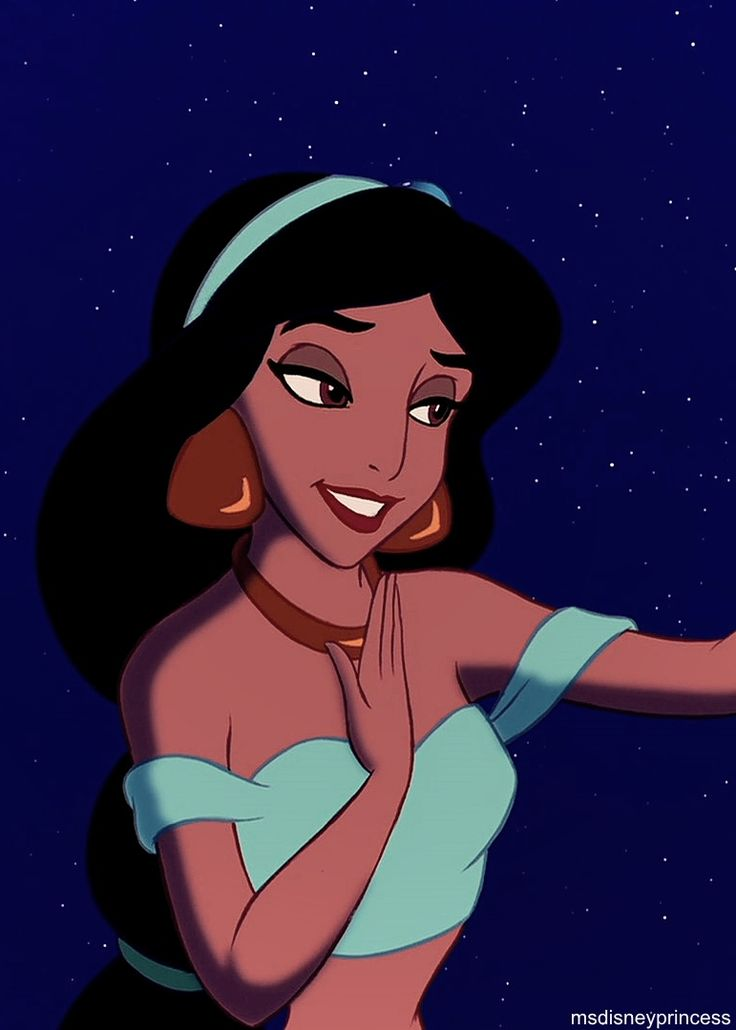 "Princess Jasmine (Linda Larkin) from ""Aladdin"""