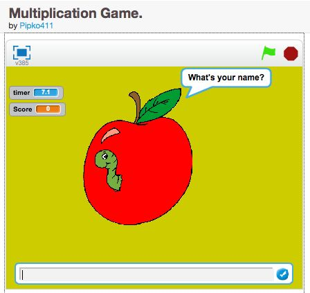 A simple game demonstrating how to make a quiz in Scratch | CS50