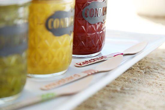 IHeart Organizing: Cute Condiment Jars