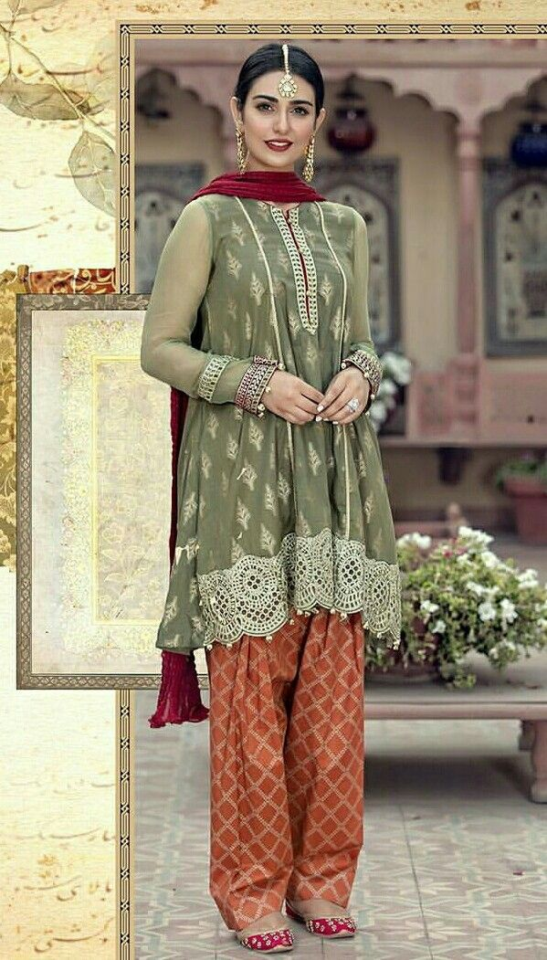 e640310bc9 Sarah khan in maria b eid collection 2018 | eastern wear | Pakistani ...