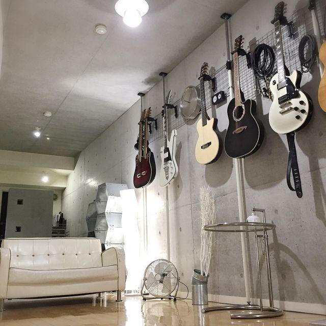 音楽に没頭出来そう ギターのあるお部屋特集 ギター部屋