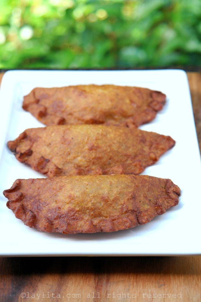 Green plantain empanadas