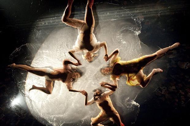 Del teatro a la empresa: las lecciones de creatividad que puede dar Fuerza Bruta  Todos los artistas rotan los papeles durante los distintos shows. Foto: EFE