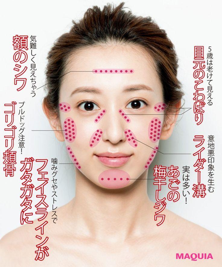 シワやたるみ…老け顔の元凶は「顔のコリ」!ほぐして解消するテク