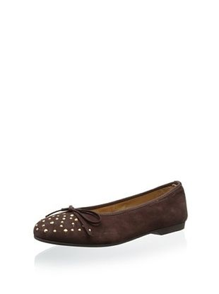 63% OFF Clarys Kid's 5094 Ballet Flat (Chocolate)