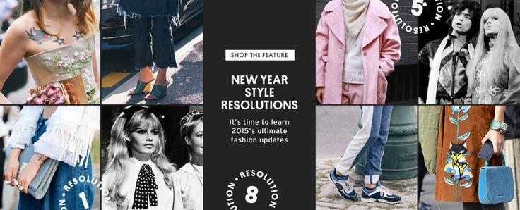 New Year Banner from Top Shop #Web #Digital #Banner #Online #Marketing #Retail #Fashion #NewYear
