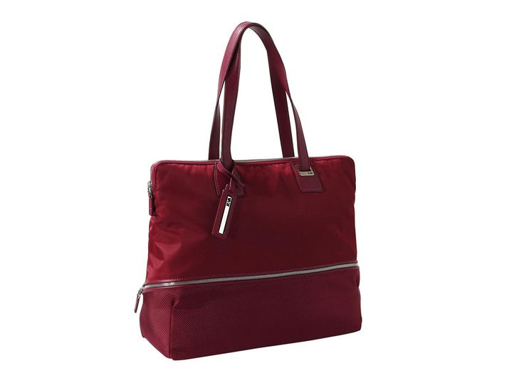 Woman work bag, 2 adjustable handles, PC and iPad case - Downtown - NAVA Design! #ValentinesDay
