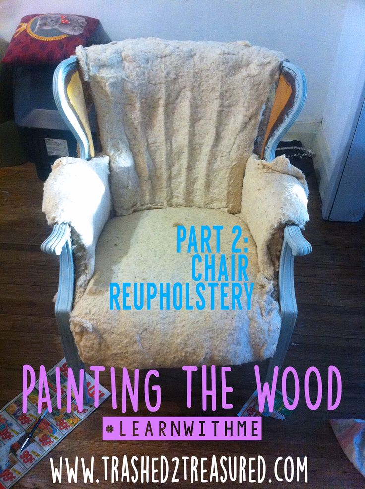 Check out Part 2 in my Big Chair Journey!