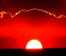 Amazing Sun Sets of San Filipe