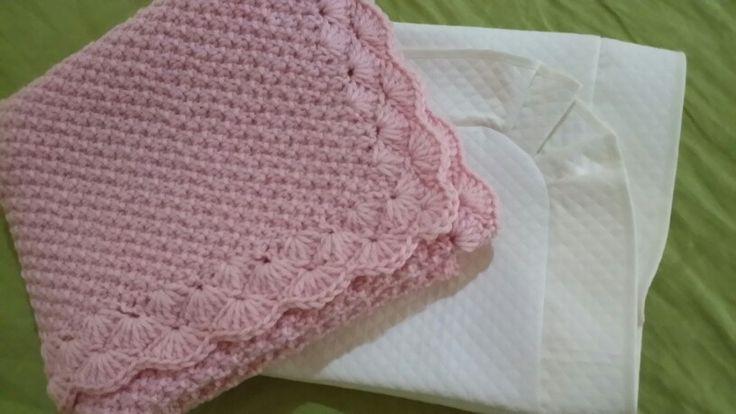 Copertina in lana per carrozzina