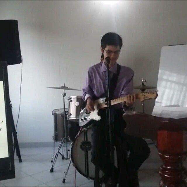 """Nuestra traducción de """"Always"""", uno de los cantos entonados en uno de los cultos principales en la @ieerreformada del mes de enero de 2016.  #band #exaltazionworship #culto #always #siempre #passion #contemporary #christian #music #guitar #cover #singer #drum #fire #God #church #sound #listen #followus #sing #uk #europe #lime #peru #panama #africa #argentina #mexico #chile #brazil @vocaluniversity @mapexmarching"""