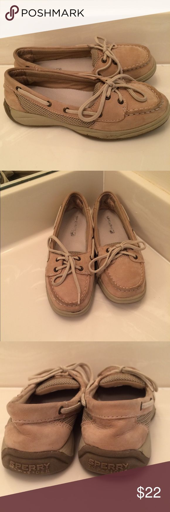 Sperry Girls Size 2  Shoes   Sperry Girls Size 2  Shoes. Cute Sperrys for school or everyday wear. Hear would be perfect for back to school. Some wear but still have a lot of life left Sperry Top-Sider Shoes Moccasins