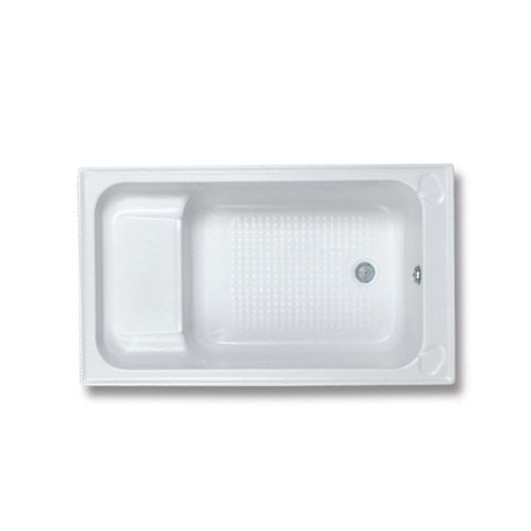 The Trojan Kent Single Ended Acrylic Bath comes with a built-in Seat for added comfort and accessibility. Perfect for those who find conventional bath tubs less comfortable to use.