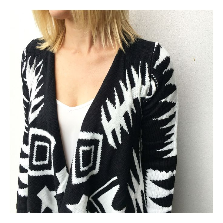 Our gorgeous NEW Aztec Cardi available online now @ www.bluesageclothing.com.au