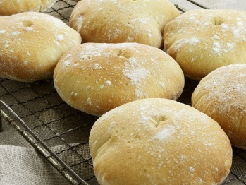 Stottie Cakes from Great Britain - recipe with American measurements