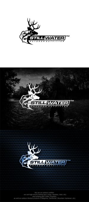 Fly Fishing and Hunting Outfitter needs a Logo ... Modern, Masculine Logo Design by JavaHeat