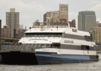 Seastreak Ferry is a sightseeing attraction departing from the NJ Shore