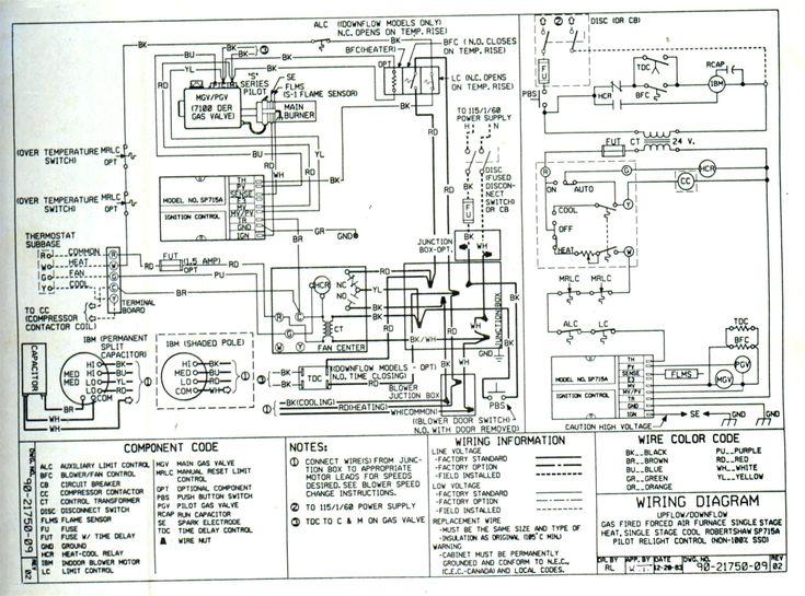 Trane Weathertron Thermostat Wiring Diagram Elegant In 2020