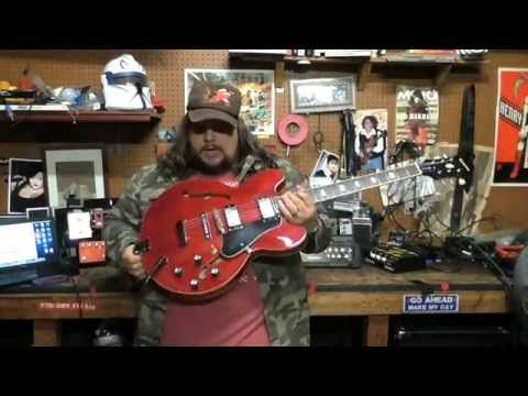 turn a cheap guitar into a great guitar johnson jh-100 delta rose. setup and review - YouTube