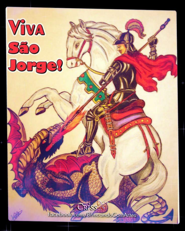 Você sabia que dia 23 de Abril é dia de celebrar São Jorge ? Acredito que sim. Mas, você sabia que esta data foi instituída Feriado Est...