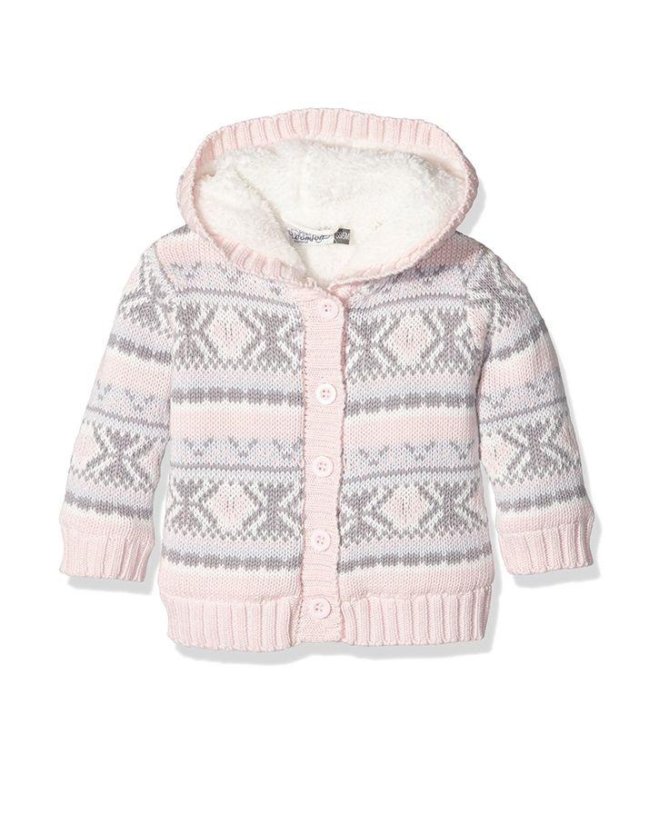Ζακέτα ροζ bebe πλεκτή με επένδυση | Poulain.gr