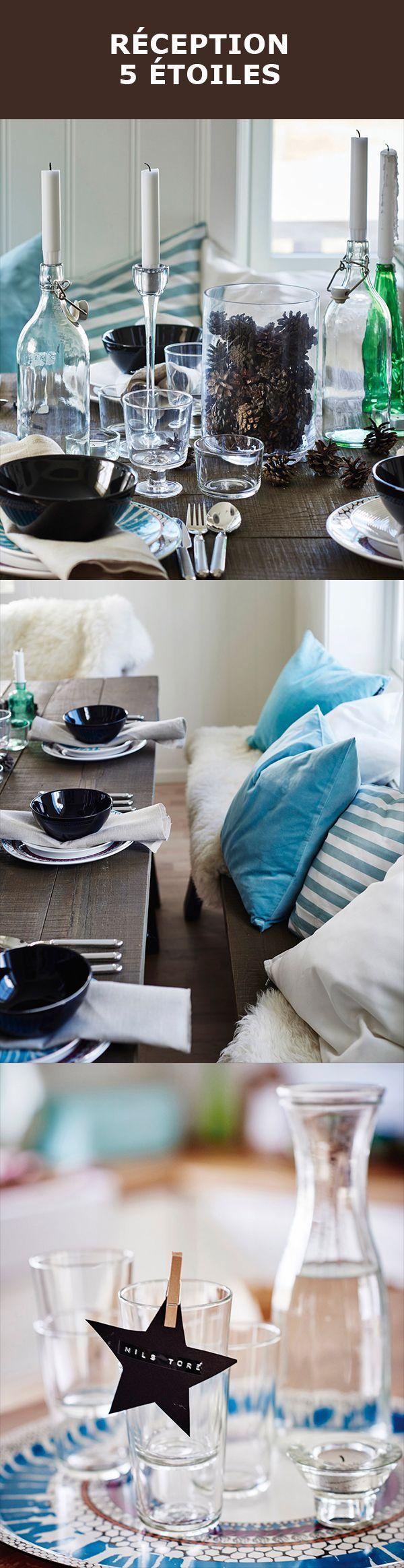 Les plus belles tables hivernales sont inspirées de la nature. Invitez l'extérieur à l'intérieur en collectionnant des pommes de pin que vous placerez dans un vase CYLINDER. Et petit bonus, vous avez maintenant une bonne raison de passer l'après-midi à l'extérieur.