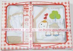 Darčekové balenie pre bábätká 5 dielne - Baby Korytnačka, bežová