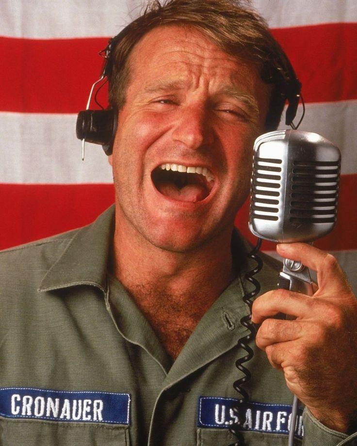 """Robin Williams in """"Good Morning Vietnam."""""""