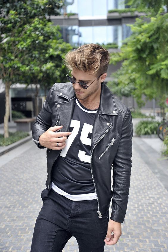Bikers leather jacket for men⋆ Men's Fashion Blog - TheUnstitchd.com
