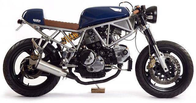ϟ Hell Kustom ϟ: Ducati SS750 1999 By Maria Motorcycles