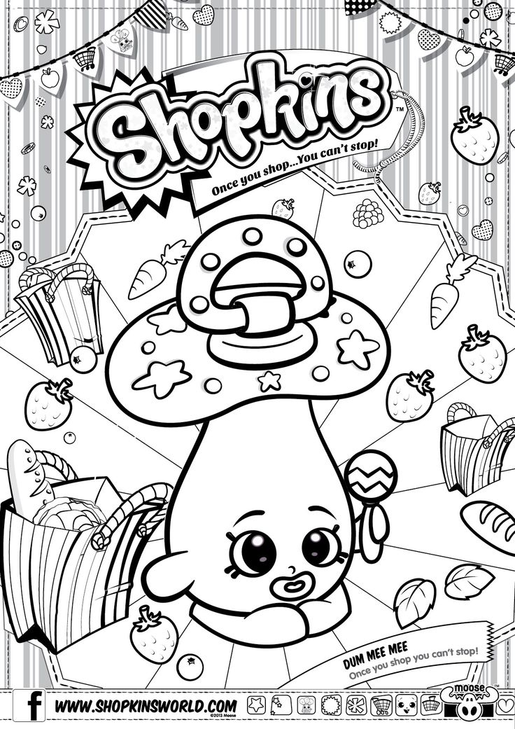Pin by LMI KIDS Disney on Shopkins Pinterest Coloring