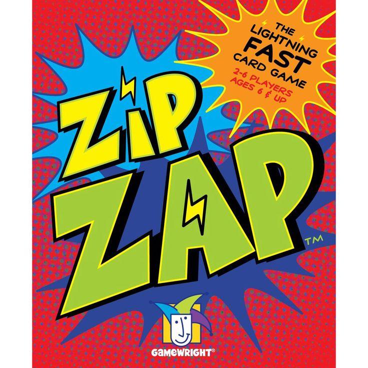 Gamewright TGMW-29 Zip Zap lightning-fast card game