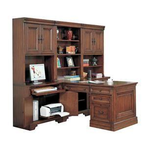 Modular Peninsula Desk Unit | Nebraska Furniture Mart