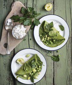 Ricche di deliziose proteine vegetali, ma totalmente senza glutine: ecco le crêpes più buone che si possano cercare in primavera. Perfette per un regime leggero!