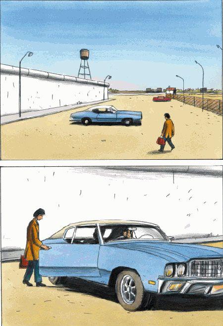 """Loustal: """"Le style de l'écrivain m'importe plus que l'histoire"""" - Actua BD: l'actualité de la bande dessinée"""