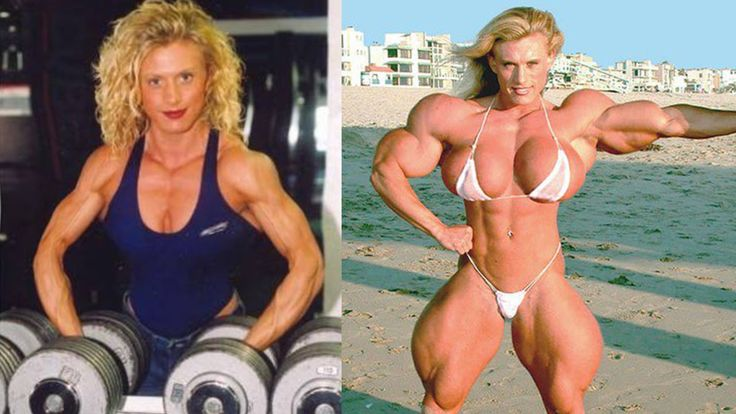5 Women Before And After Steroids