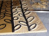 Printmaking and Pottery: Using Linocuts to Make Clay Prints | Ceramic Arts Daily