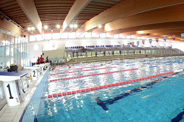 Getur #piscina olimpionica Complesso sportivo di nuova costruzione, presenti 2 piscine: una olimpionica da 50x25m con più di 400 posti a sedere dove si effettuano gare da tutta Italia, una da 25x12,5m per nuoto libero ed allenamento per atleti. Tecnologia e relax vi aspettano.