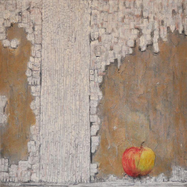 """Iwona Kulagowska , z cyklu struktura, 40x40 cm, technika własna 2014 rok. Wywiad z Iwoną Kulągowską, której prace w styczniu 2015 roku prezentowane są zarówno w USA w Nowym Jorku w galerii New Century Artists Gallery  na wystawie zbiorowej p.t.:""""Dreams""""... http://artimperium.pl/wiadomosci/2,sztuki-wizualne#.VM_O_Z2G-So"""
