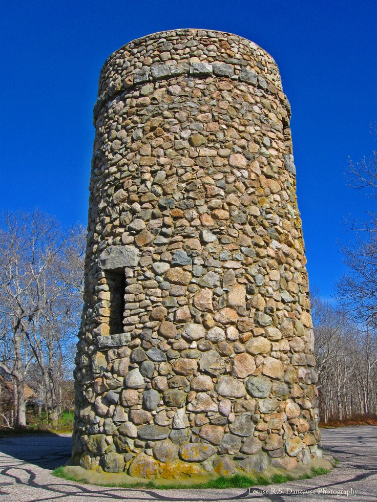 Scargo Tower, Dennis, MA.  Climb up to the top for a view of both Nantucket Sound and Cape Cod Bay.