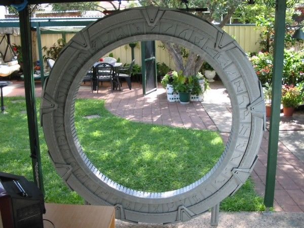 Build Your Own Backyard Stargate | Hack N Mod. Hahahahaha!