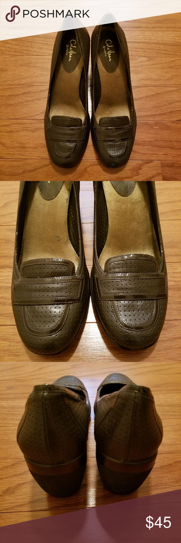 Cole Haan Nike Air Brown Wedges Size 9B Cole Haan Nike Air Brown Wedges Size 9B Cole Haan Shoes Wedges