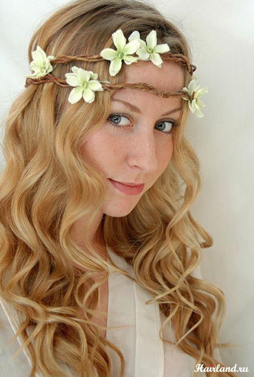 свадебные венки на голову фото | Photo-Feel.ru