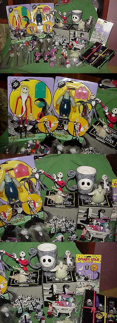 Nightmare Before Christmas 36586: Big Lot Vintage Mostly Nib Nightmare Before Christmas Toys Figures Watches -> BUY IT NOW ONLY: $140 on eBay!