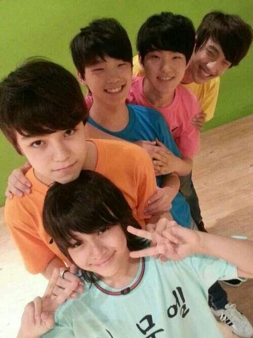 Samuel, Hansol-ah, Channie, Soonyounggie, and Seokmin-ah