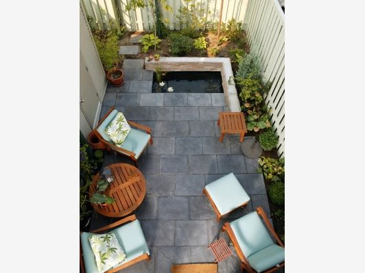 Cozy, Intimate Courtyards - Home and Garden Design Idea's