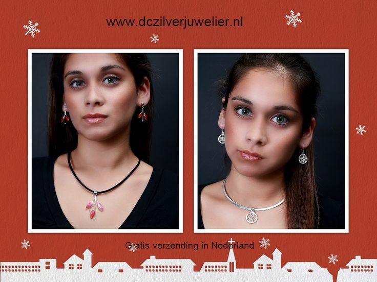 Kerst cadeaus. Prachtige zilveren sieraden www.dczilverjuwelier.nl