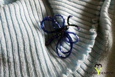 Kék gyöngy pillangó    http://www.hobbycenter.hu/Evszakok/kek-gyoengy-pillango.html