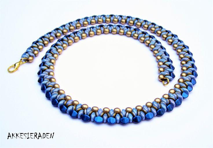 Free necklace Pattern Akke Jonkhof