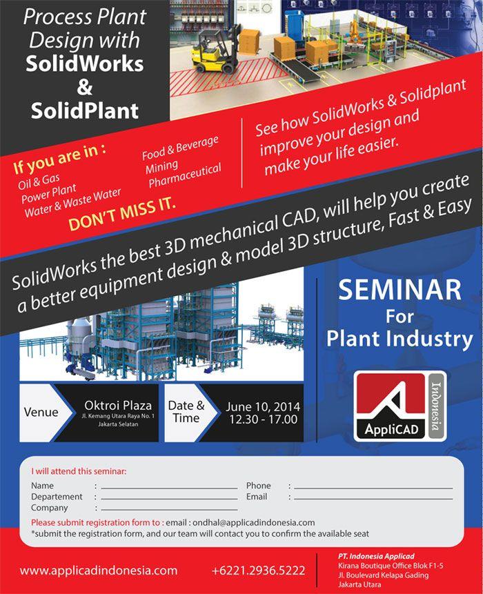 Free Workshop Solidworks Oil & Gas